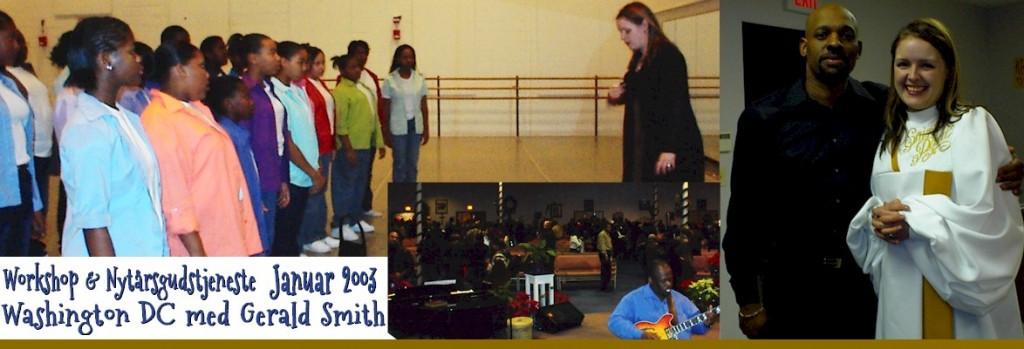 Workshop, nytårsgudstjeneste og gospel