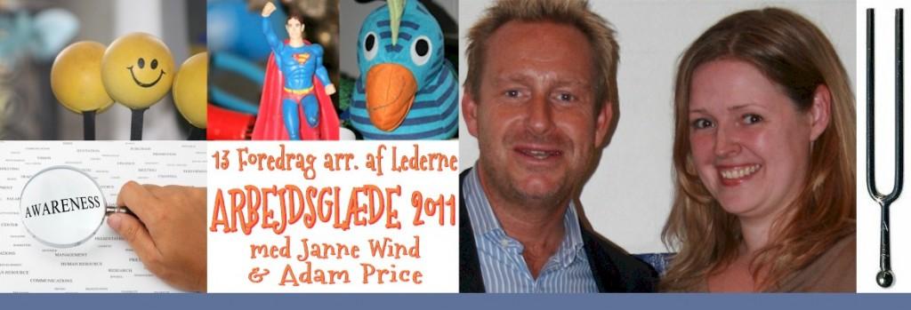 Adam Price og Janne Wind